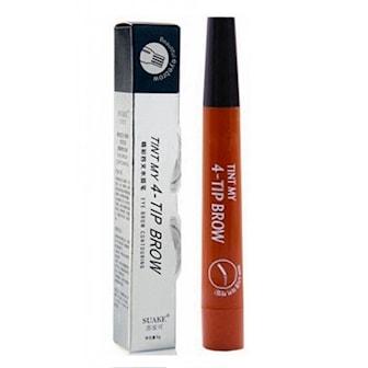 Lysebrun, Liquid Water Eyebrow Pencil, MIcroneedle øyenbrynspenn,