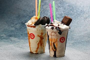 2 för 1: Milkshake från Crust Pizza Lab