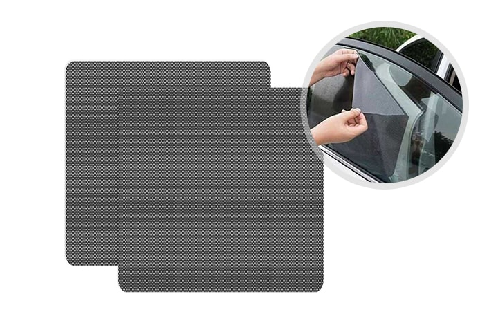 Solskydd bilfönster 2-pack
