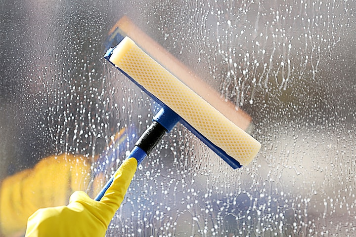 Ut- och invändig fönsterputs