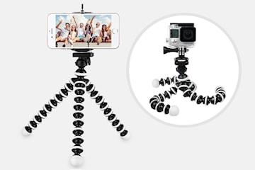 Tripod til mobil og kamera