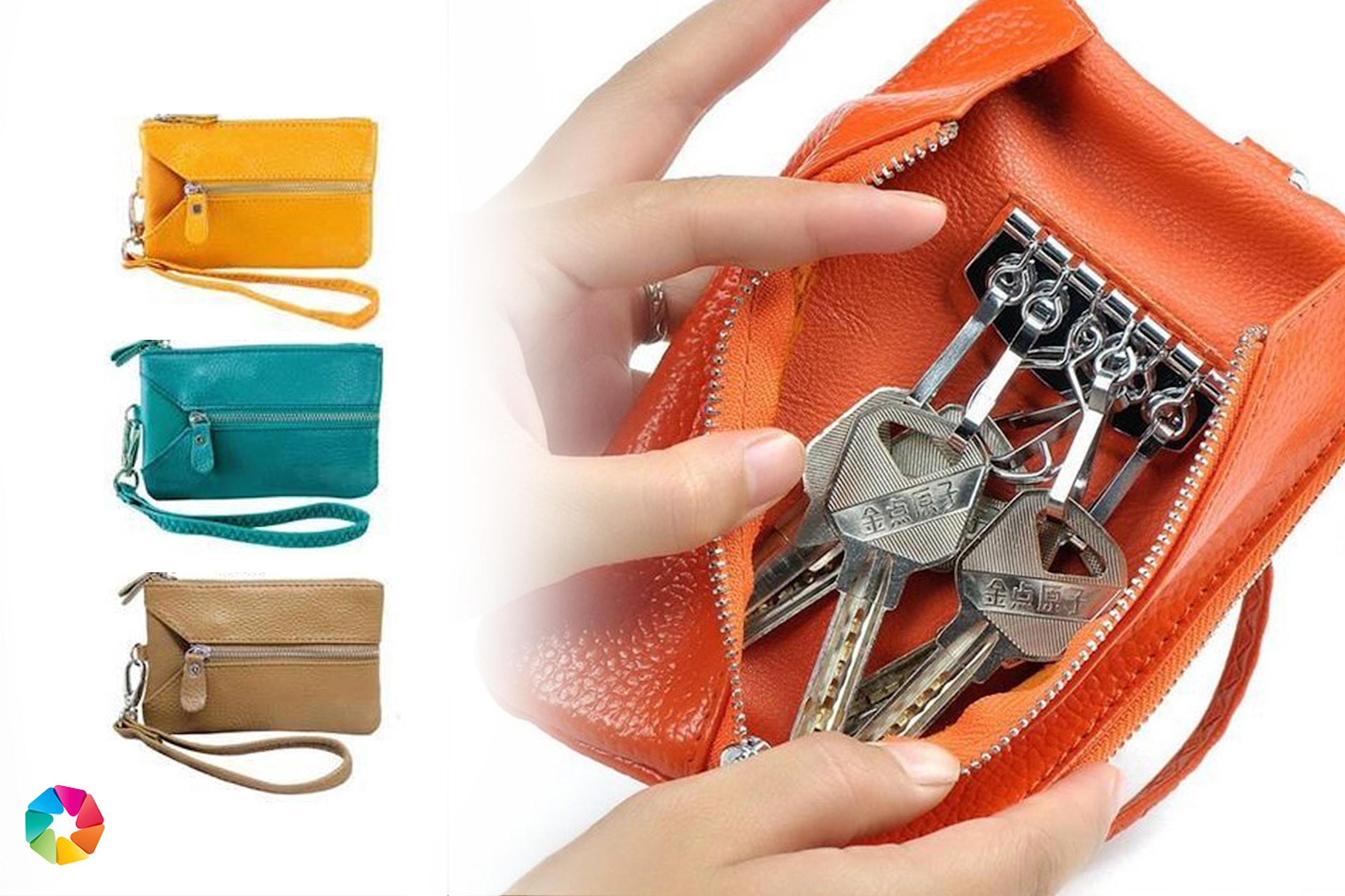 Multi-lommebok i ekte lær