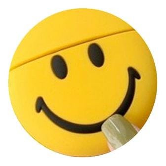 Smiling, EMOJI APPLE COMPATABLE I10 EARBUDS, Apple-kompatibla trådlösa hörlurar,