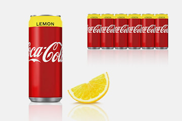 48 bokser Coca-Cola Lemon