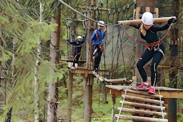 Billetter til Oslo Klatrepark for sesongen 2021 (begrenset antall billetter)