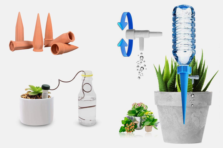 6-pack automatiskt bevattningssystem för växter (1 av 9)