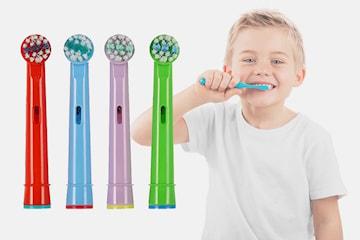 Tandborsthuvuden för barn kompatibla med Oral-B 8-16-pack