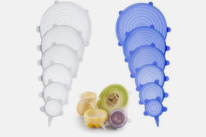 Forseglingslokk i silikon 6-pack eller 12-pack