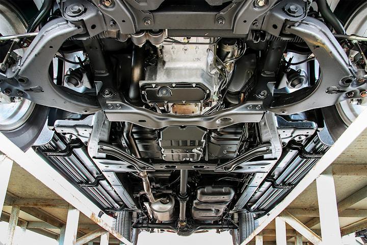 Rostskyddsbehandling och fullständig fordonskontroll