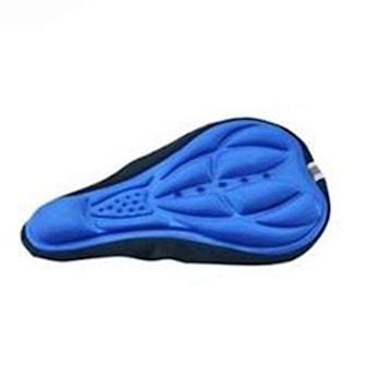 Blå, 3D Cycling Bicycle Bike Seat Cover Cushion, Sadelskydd, ,