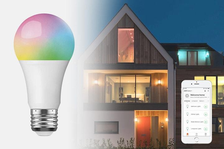 Flerfarget Smart LED-pære E26 eller E27