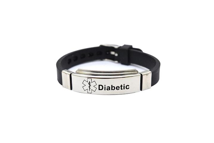 Medicinsk Varnings-ID Armband
