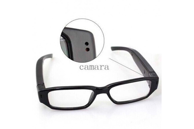 Spionglasögon med HD-kamera