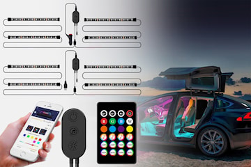 LED-belysning för bil