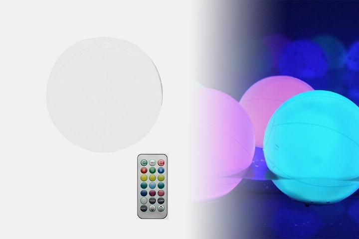 Oppblåsbar LED-ball