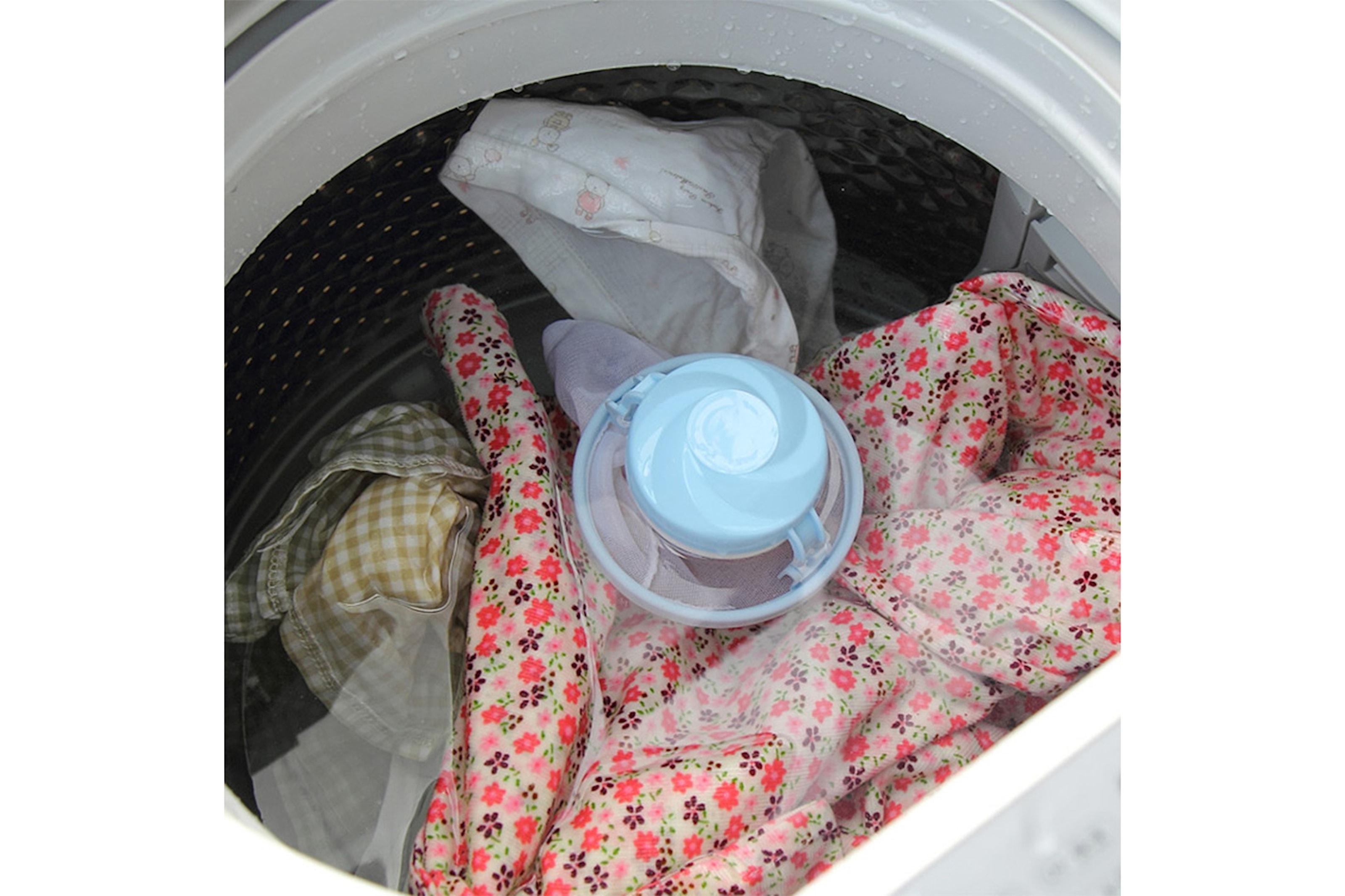 Håruppsamlare till tvättmaskinen