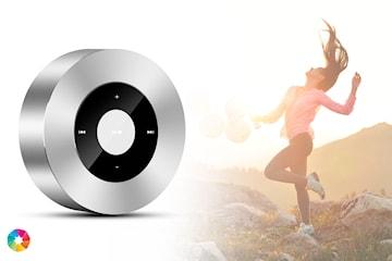 Bluetooth høyttaler med LED