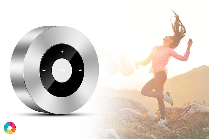Bluetooth-högtalare med LED