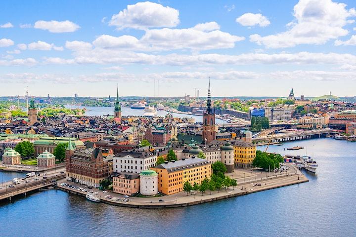 Overnatting for to personer på Connect Hotel City i Stockholm