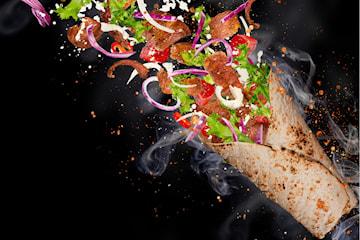 Kebab med Naanbröd