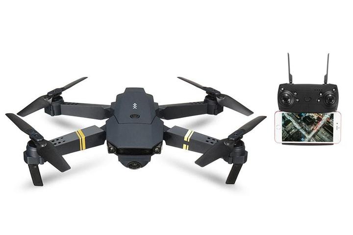 E58 RC Quadcopter drönare med HD-kamera