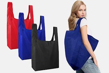 Miljövänlig shoppingkasse 4-pack