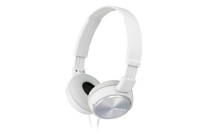 Sony ZX-serie MDR-ZX310AP Pannband/On-Ear, Vit