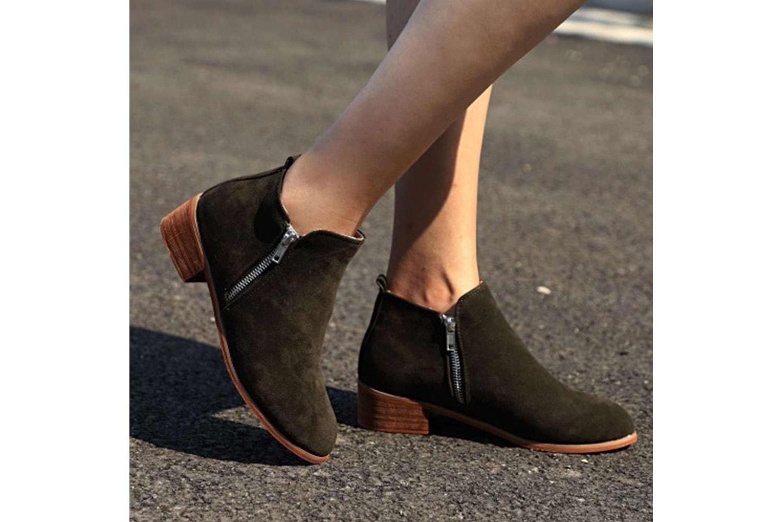 Høyhelte ankelstøvler