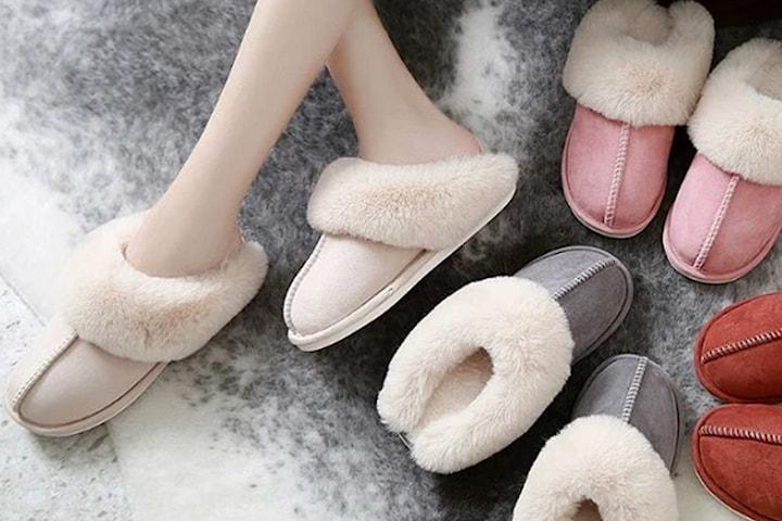Komfortable tøfler