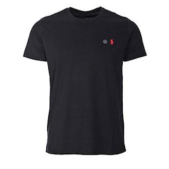 Svart, L, Ralph Lauren, T-shirt, Custom fit, Ralph Lauren custom fit t-shirt, ,