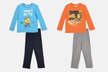 Pyjamas med Minions-motiv