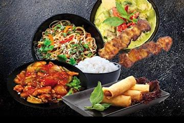 Deluxe Catering hos ThaiThai Takeaway fra 10 personer, kun 179 kr per person