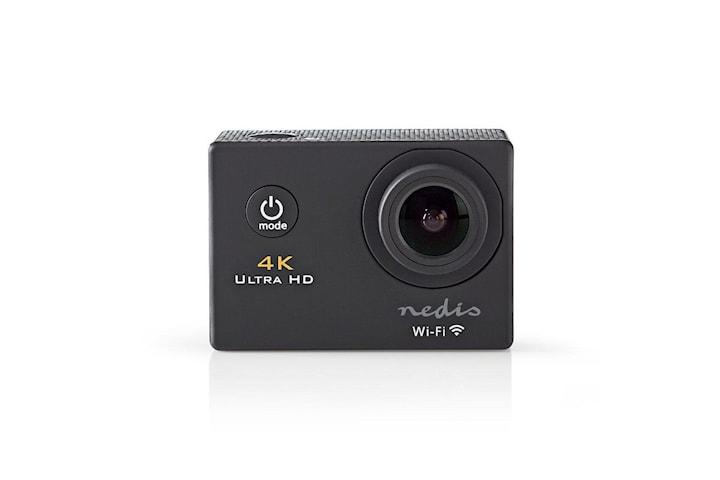 Nedis 4K Ultra HD Action Kamera, Svart