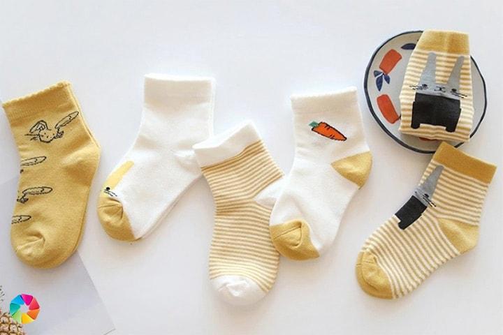 5 par strumpor till barn
