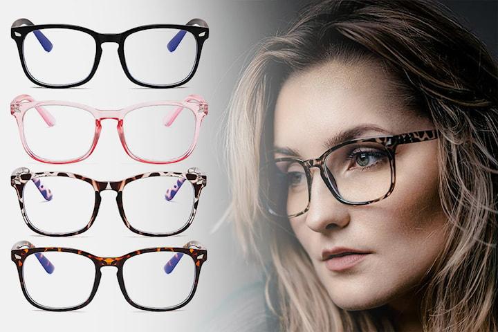 Blått lys blokkerende briller