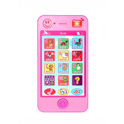 Rosa, English Simulation Mobile Baby Toy Phone, Leketelefon med lyder, ,  (1 av 1)