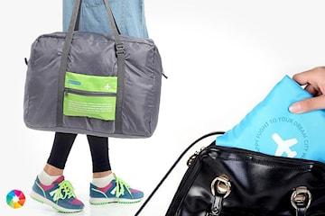 Sammenleggbar reisebag
