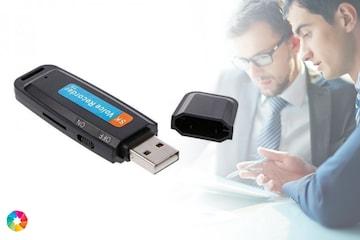 USB minnepenn med lydopptak