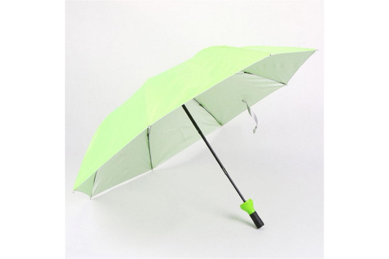 Paraply med vinflaske design