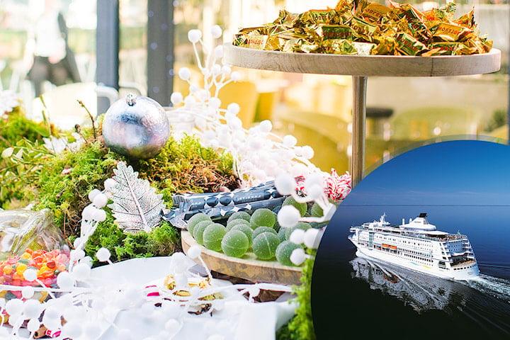 Vintersmak: Magiskt julbord för 2 personer på Birka Cruises