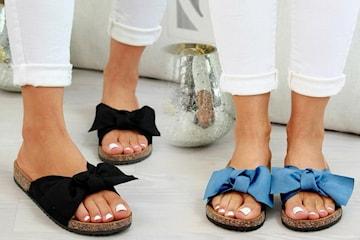 Sandal med bue