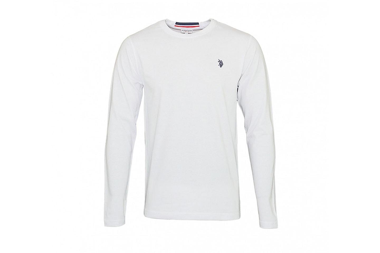 US Polo långärmad tröja | Erbjudanden och rabatter online
