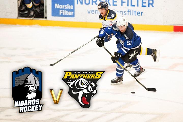 Gratis hockeykamp Nidaros vs Ringerike på Leangen arena 5. januar