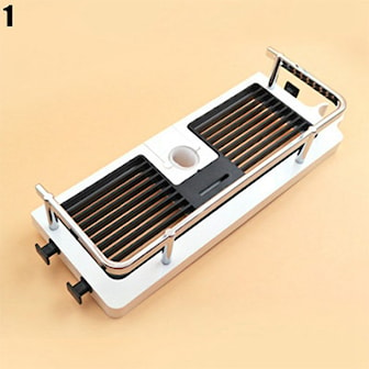 Model 1, Bathroom Shelf Shower Pole Storage Rack, Liten dusjhylle, ,