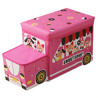 Rosa, Bus Storage Box, Oppbevaringsboks med bilmotiv, ,