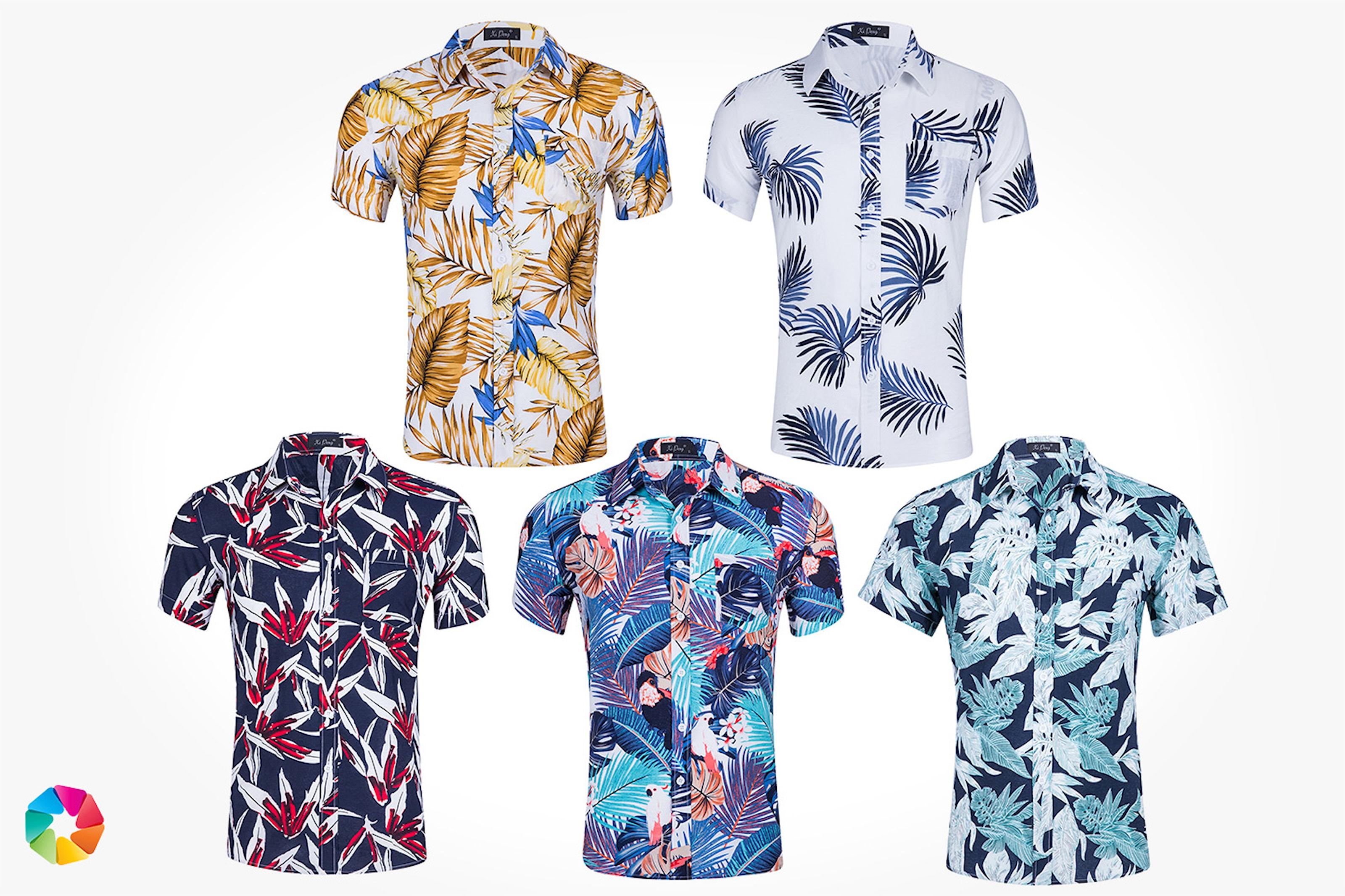 Sommerskjorte til herre
