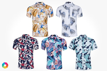 Sommarskjorta i herrmodell