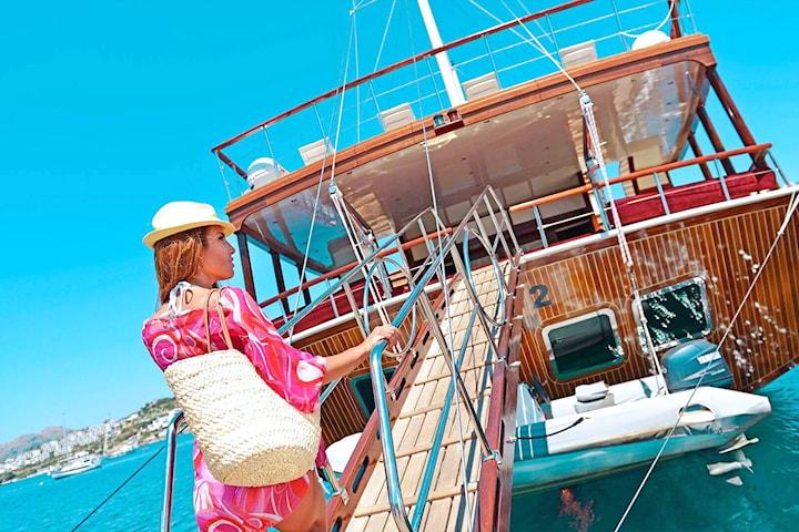 1 vecka all inclusive segelcharter på Medelhavet