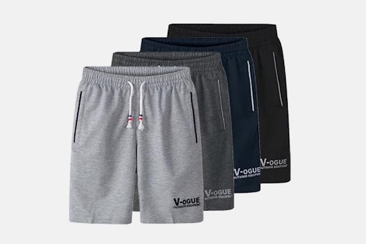 Mjukis-shorts herr