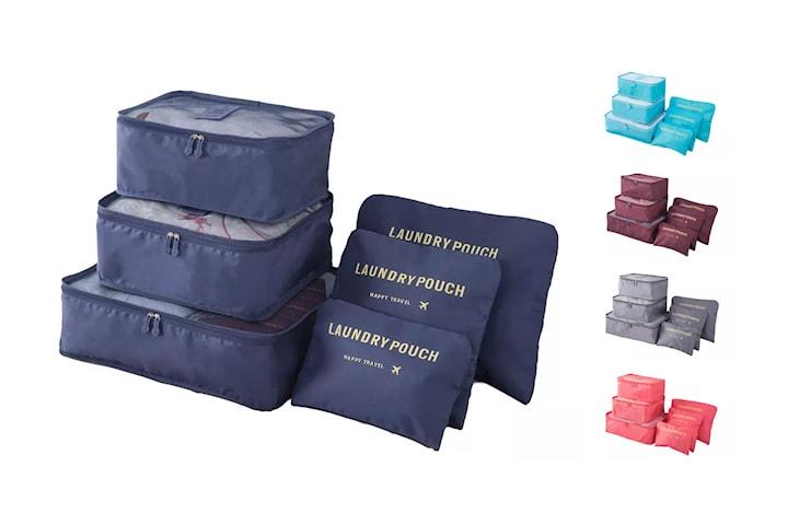 Koffertorganiserer 6 deler